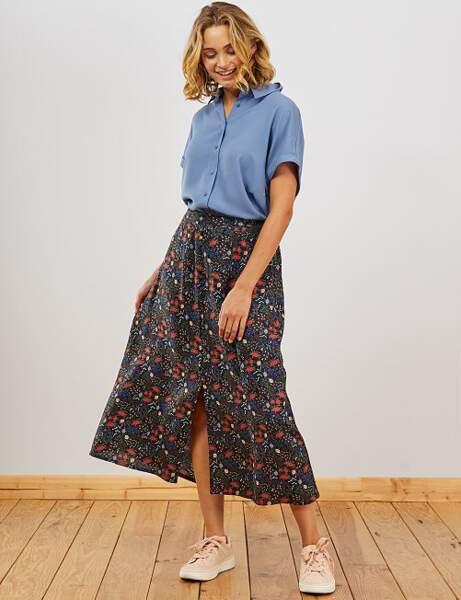 Tendance jupe longue : 20 modèles féminins et stylés à