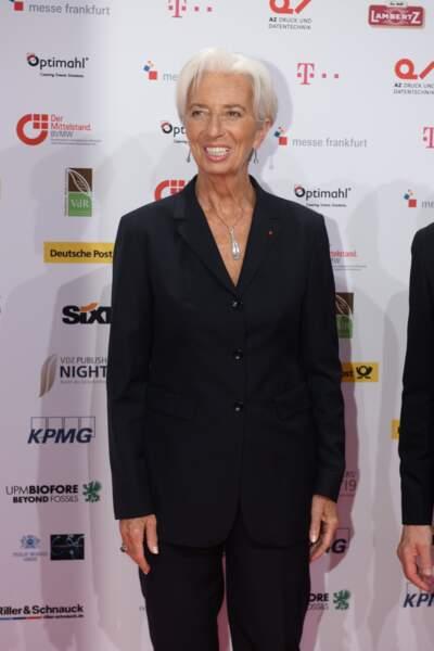 La coupe courte de Christine Lagarde