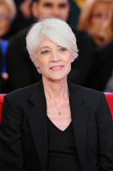 La coupe courte de Françoise Hardy