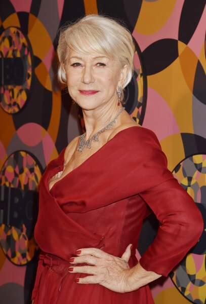 La coupe courte d'Helen Mirren