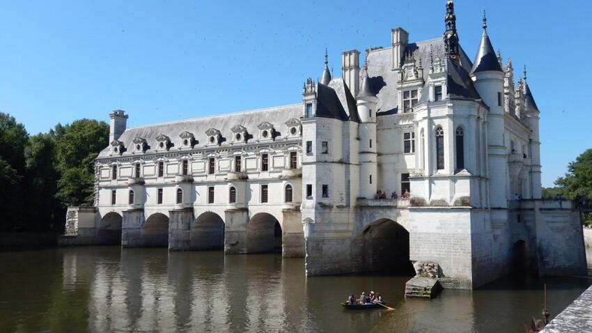 Zoom sur le château de Chenonceau