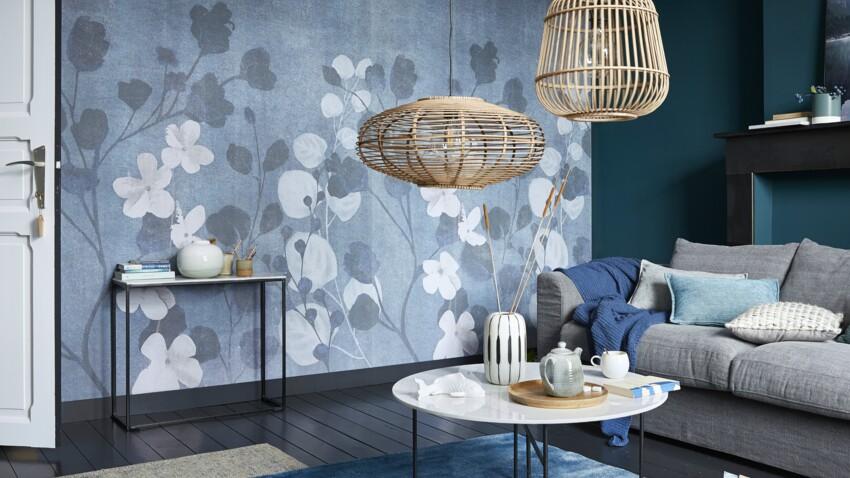Shopping déco : adoptez la tendance bleu-gris dans votre maison