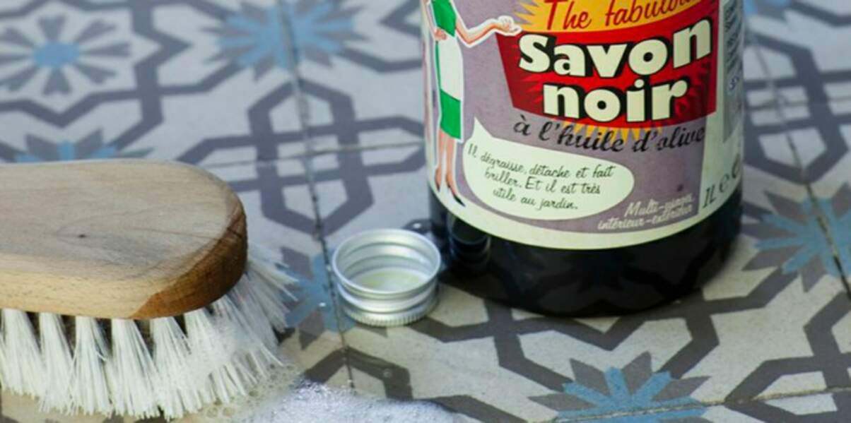 Le savon noir pour nettoyer toute la maison