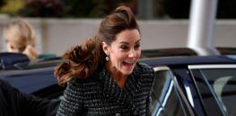 Photos - Kate Middleton : ce moment gênant où le vent a encore soulevé sa jupe