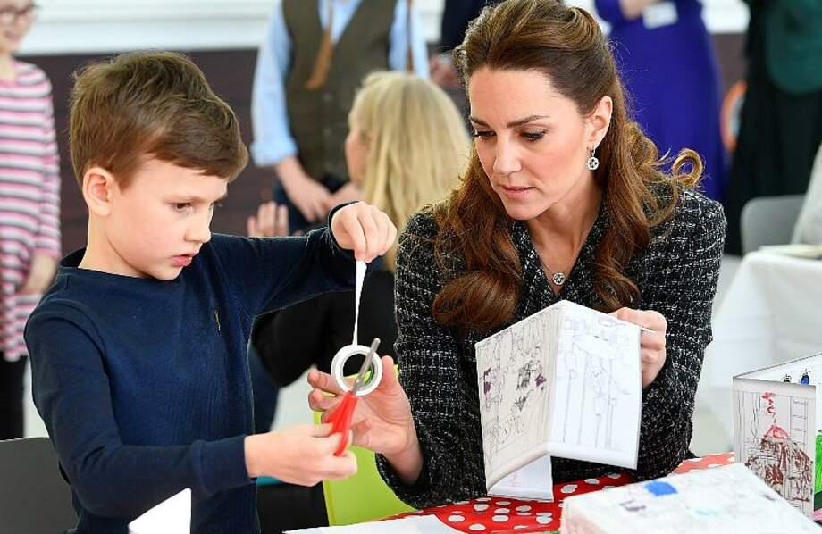 Kate Middleton en visite dans un hôpital pour enfants de Londres