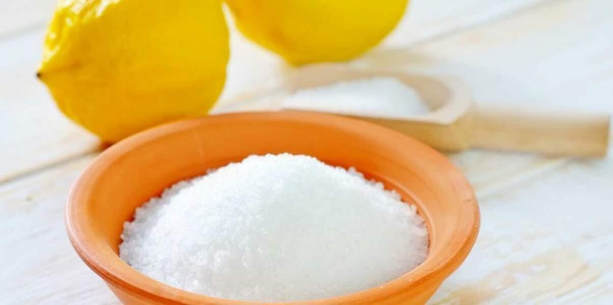 L'acide citrique pour détartrer facilement