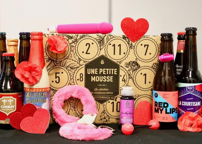 Coffret Sexy Valentine - Une Petite Mousse x Passage du Désir