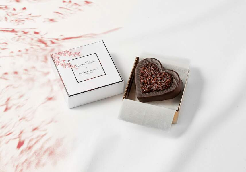 Création en chocolat - Pierre Marcolini et Carine Gilson