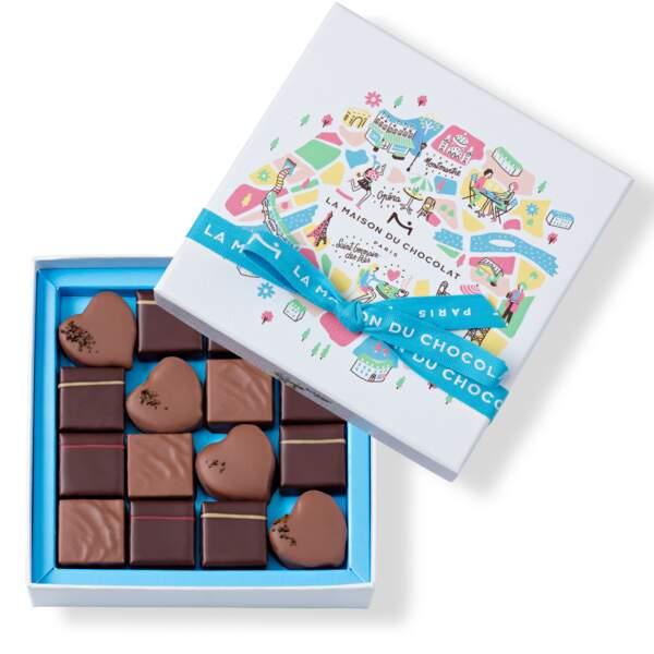 """Coffret """"Au coeur de Paris"""" - La Maison du Chocolat"""