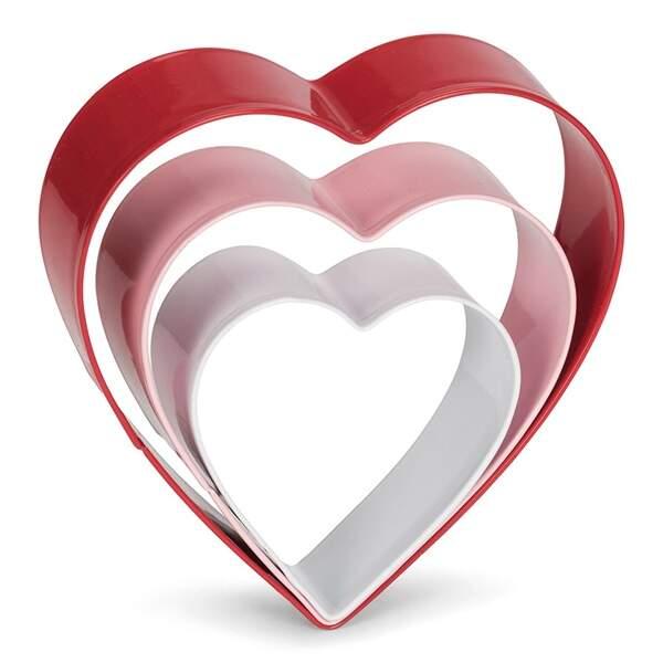 Moules en forme de coeur - Patisse