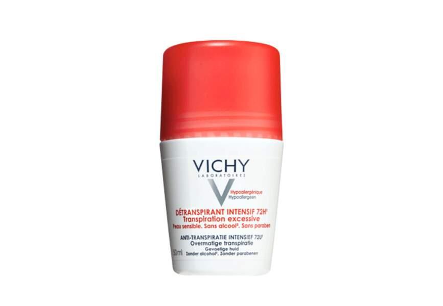 Le déodorant détranspirant intensif 72h Vichy