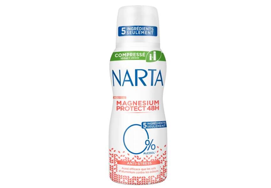 Le déodorant magnesium protect anti-stress Narta