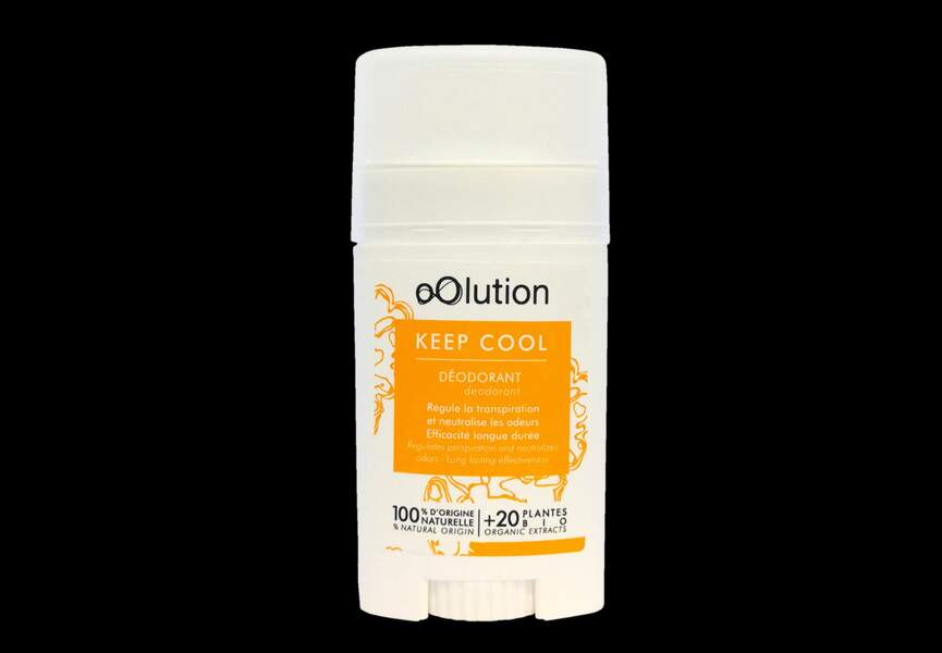 Le déodorant keep cool Oolution
