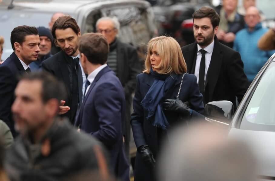 Brigitte Macron et Tristan Bromet, son chef de cabaret