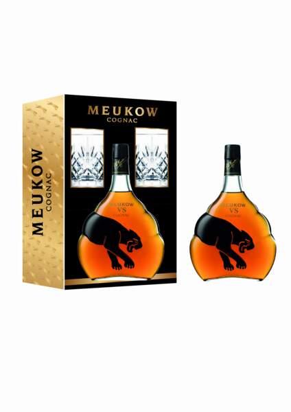 Coffret cognac et verres assortis - Meukow Cognac