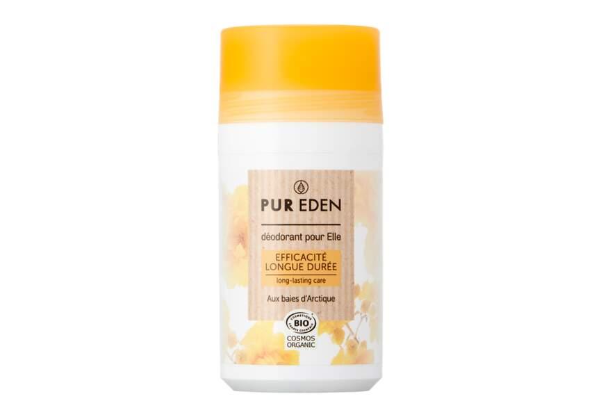 Le déodorant efficacité longue durée Pur Eden