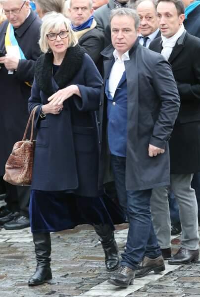 Chantal Ladesou et Fabien Lecoeuvre