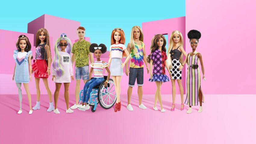 Handicap, vitiligo : les nouvelles poupées Barbie célèbrent la diversité