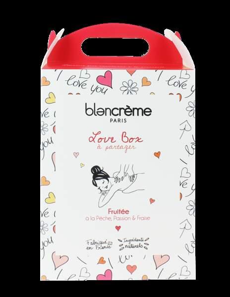 Love box fruité - Blancrème