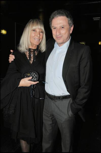 Dany Saval et son mari Michel Drucker
