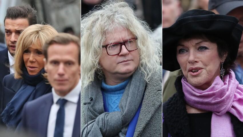 PHOTOS - Obsèques de Michou : Brigitte Macron, Pierre-Jean Chalençon, Anny Duperey... de nombreuses personnalités venues lui rendre un dernier hommage