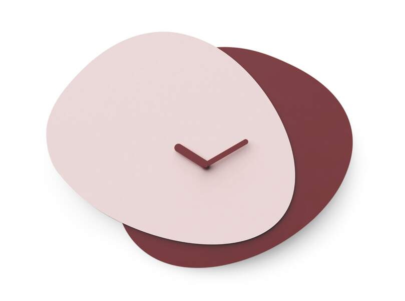 Horloge bicolore