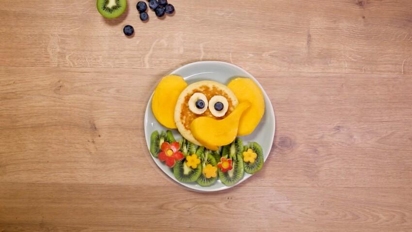 Pancake éléphant : la recette en vidéo