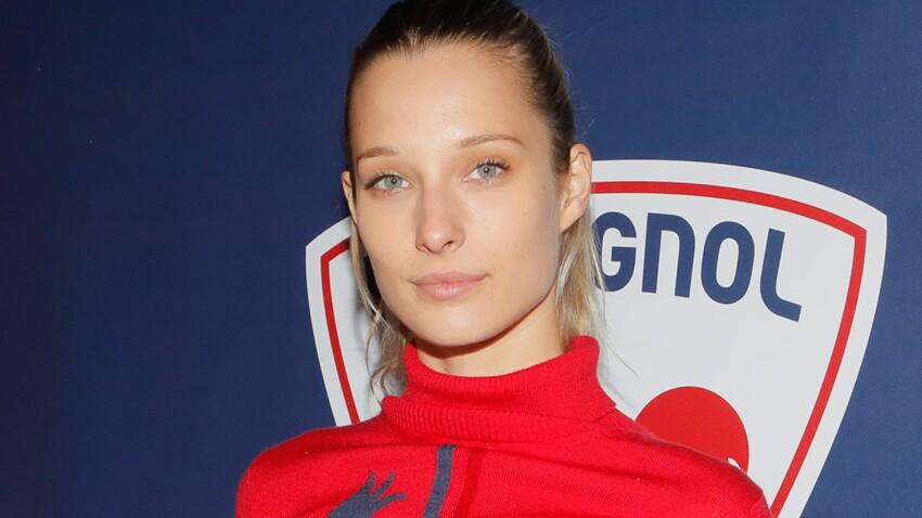 Photo – Ilona Smet adopte la grosse doudoune blanche : même au ski, elle reste canon !