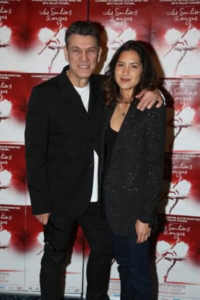 Marc Lavoine et Line Papin plus complices que jamais