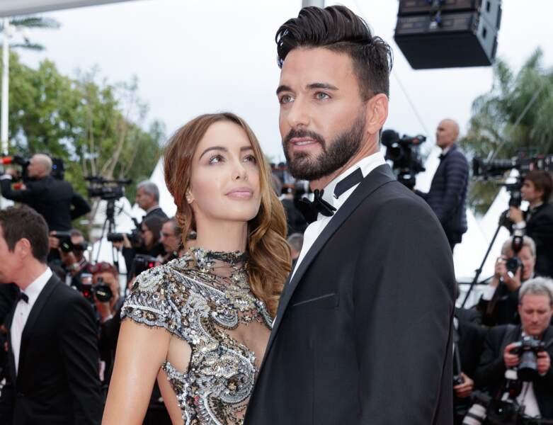 Le couple lors du 71ème Festival International du Film de Cannes.