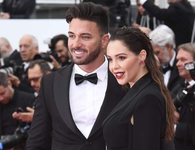 Thomas et Nabilla lors du 72ème Festival International du Film de Cannes