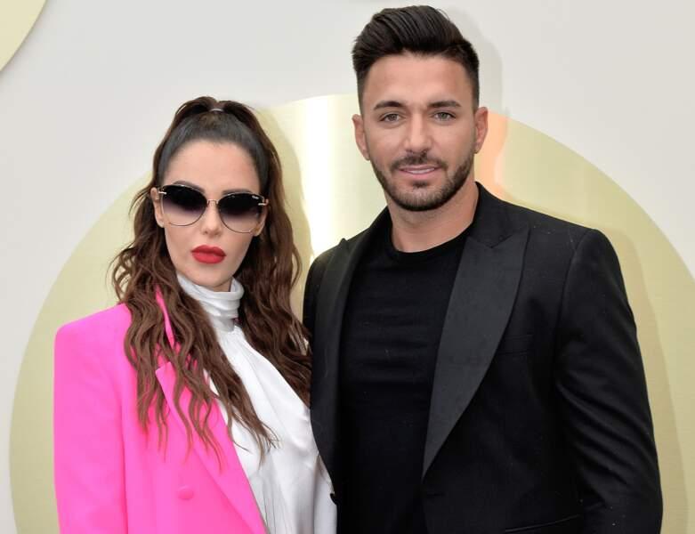 Nabilla présente sa collaboration pour les lunettes Quay Australia, lors du 72ème Festival International du Film de Cannes.