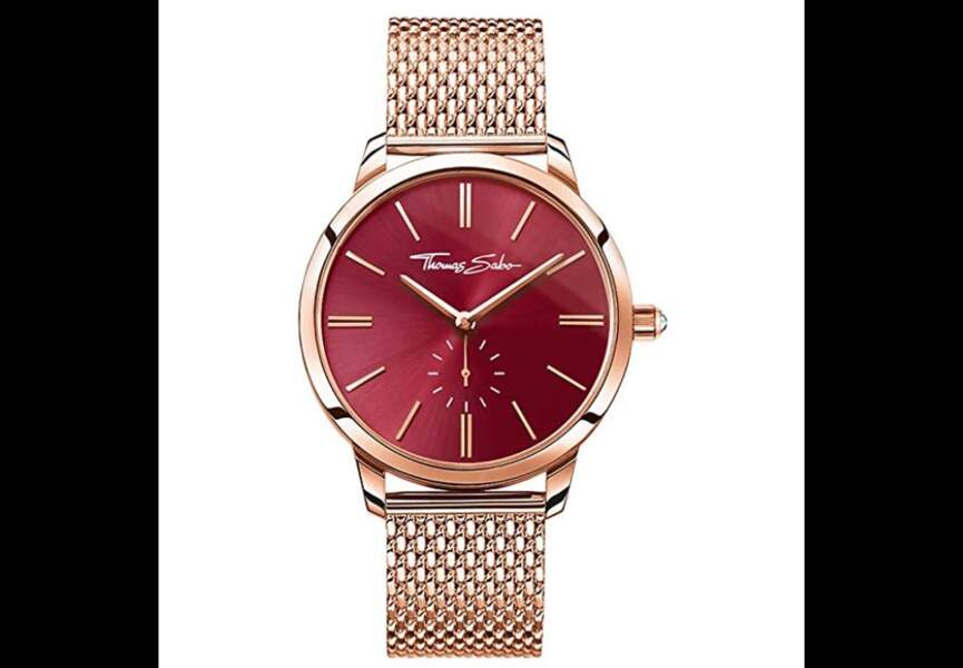Saint-Valentin : la montre de Thomas Sabo
