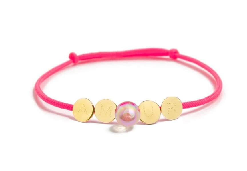 Saint-Valentin : bracelet à message de La Môme Bijou