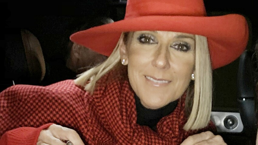 Céline Dion adopte un manteau star de l'hiver et des boots fourrées : amazing !