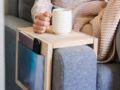 Tuto déco : réalisez une tablette rangement pour canapé