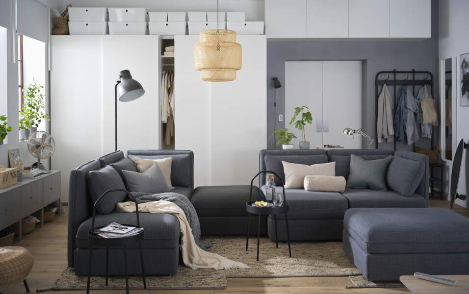 Salon cosy IKEA