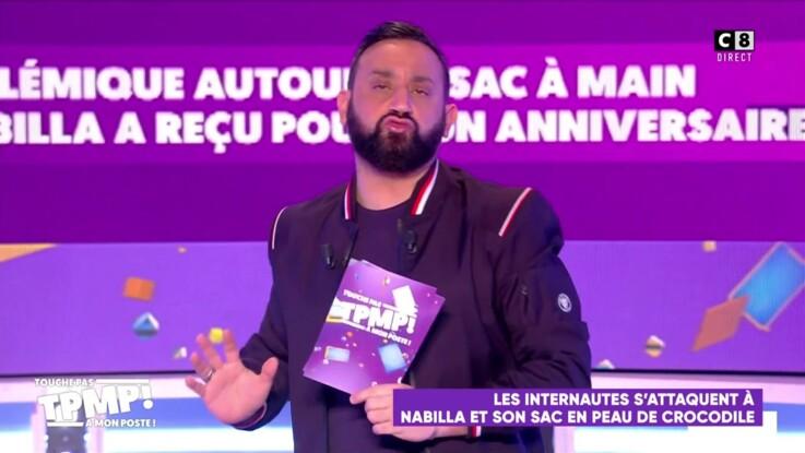 """""""Fais ton travail"""" : Cyril Hanouna lance une pique à Laurence Boccolini dans """"Touche pas à mon poste"""""""