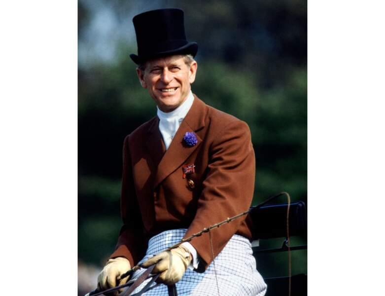 Le Prince Philip en 1980, il est alors âgé de 59 ans