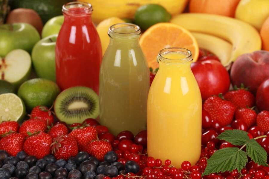 Les jus de fruit