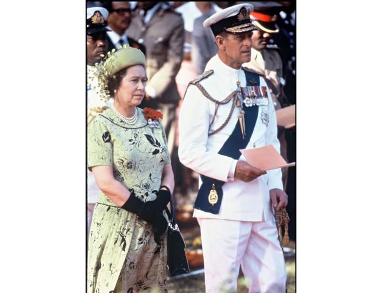 1983 : la Reine et le Prince sont en visite au Kenya