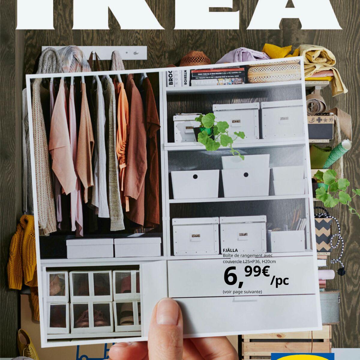 Dressing Sous Escalier Ikea catalogue ikea 2020 : les nouvelles tendances de la saison