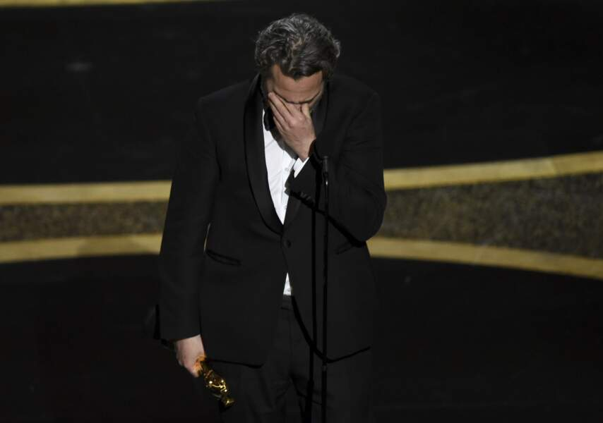 Joaquin Phoenix dans un discours émouvant