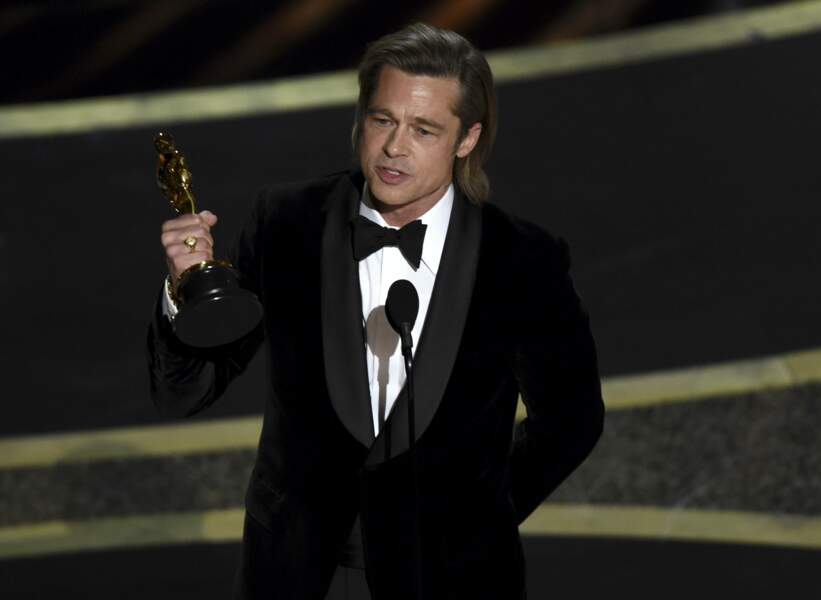 Brad Pitt : et de un !