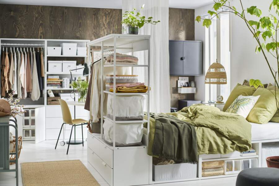 Chambre et dressing IKEA