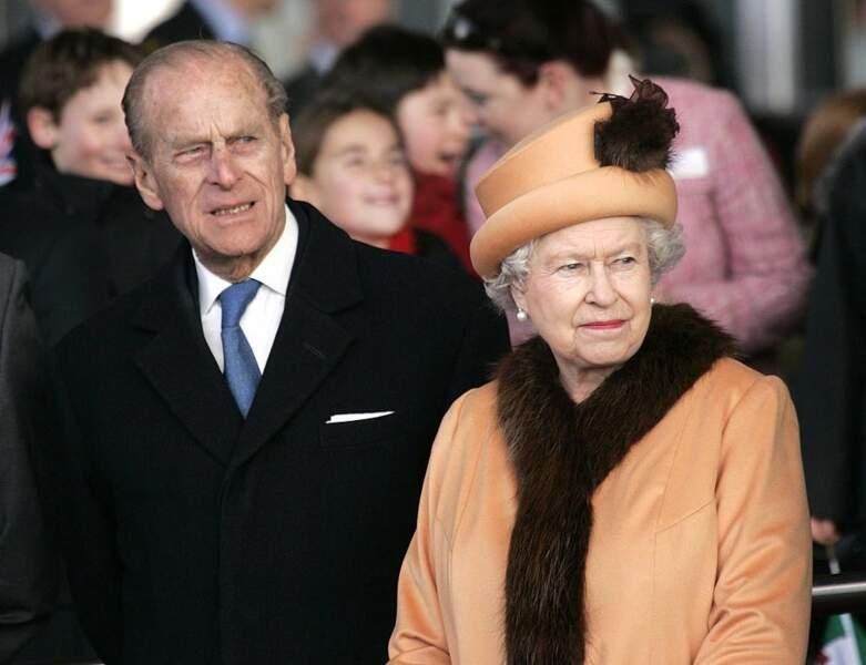2006 : le Prince Philip a 85 ans et apparait au côté de sa femme la Reine
