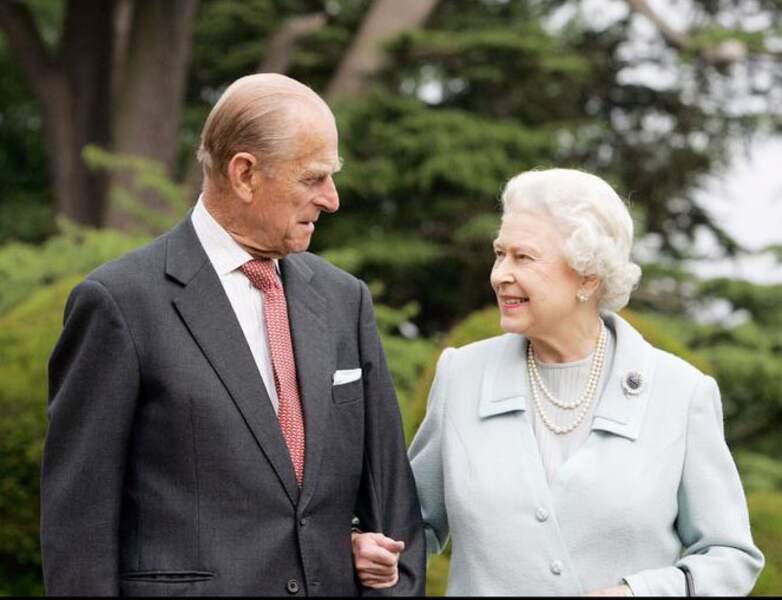 En 2007, le Duc et la Reine Elizabeth II fêtent leur noces de Diamant !