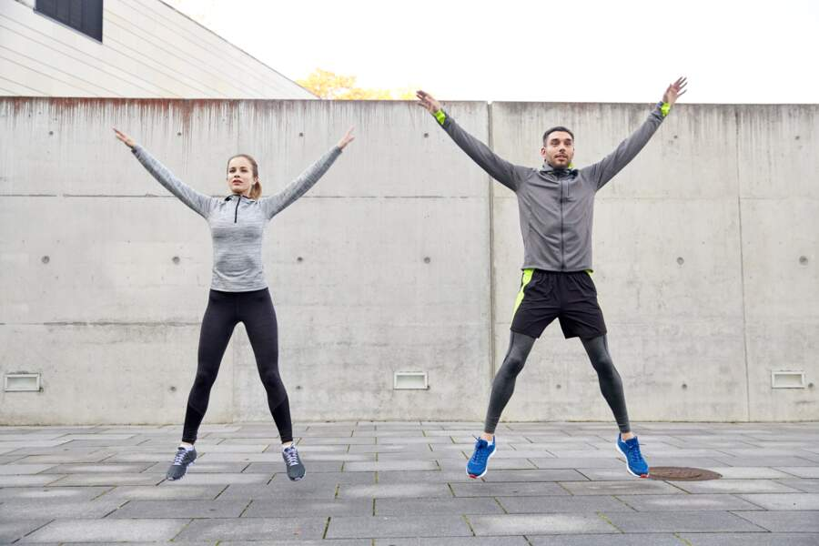 Exercice 3 : les jumping jack