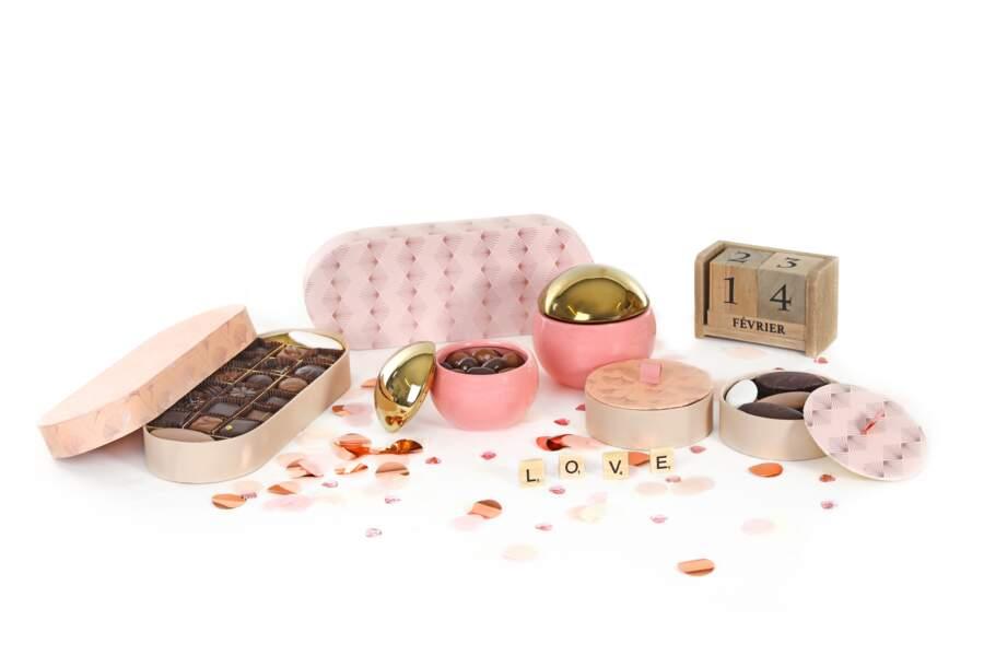 Coffrets Saint-Valentin : Chocolaterie de Puyricard