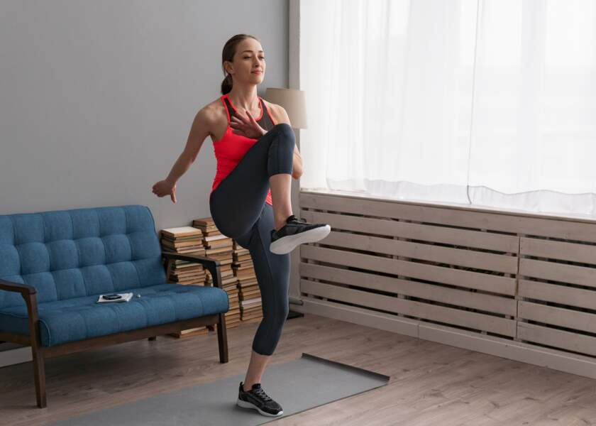 Exercice 10 : les levers de genoux
